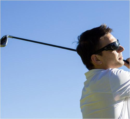ゴルフ用サングラスカラー