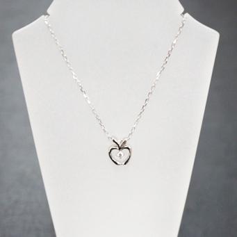 K10ホワイトゴールド ダイヤモンド ネックレス