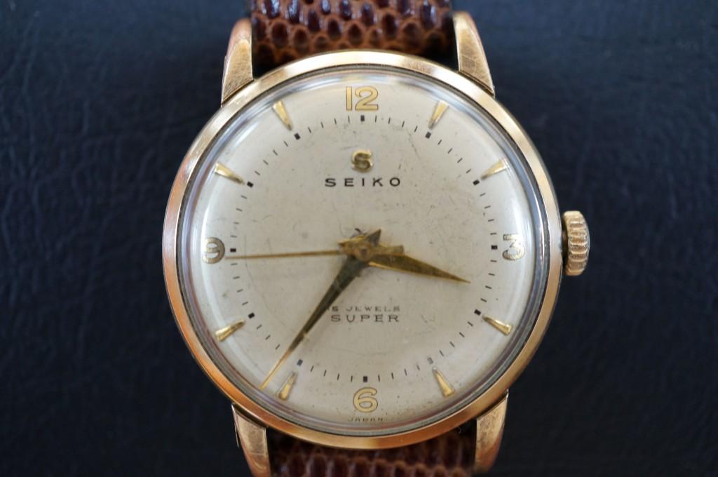 No.297 SEIKO(セイコー)JEWELS SUPER  手巻き腕時計を修理しました
