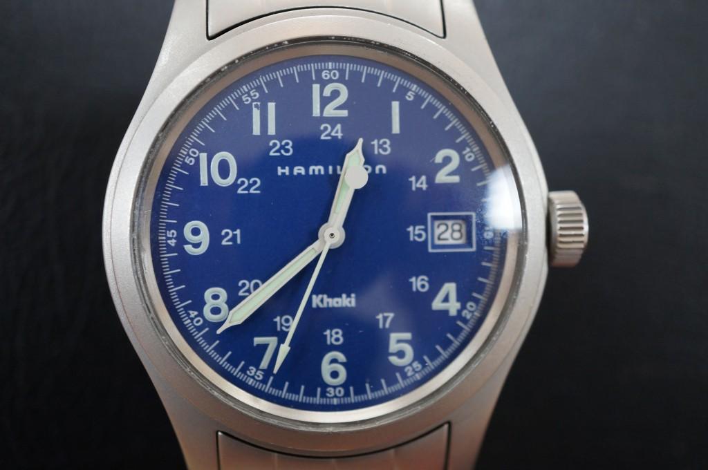 No.293 Hamilton(ハミルトン)クォーツ 腕時計を修理しました