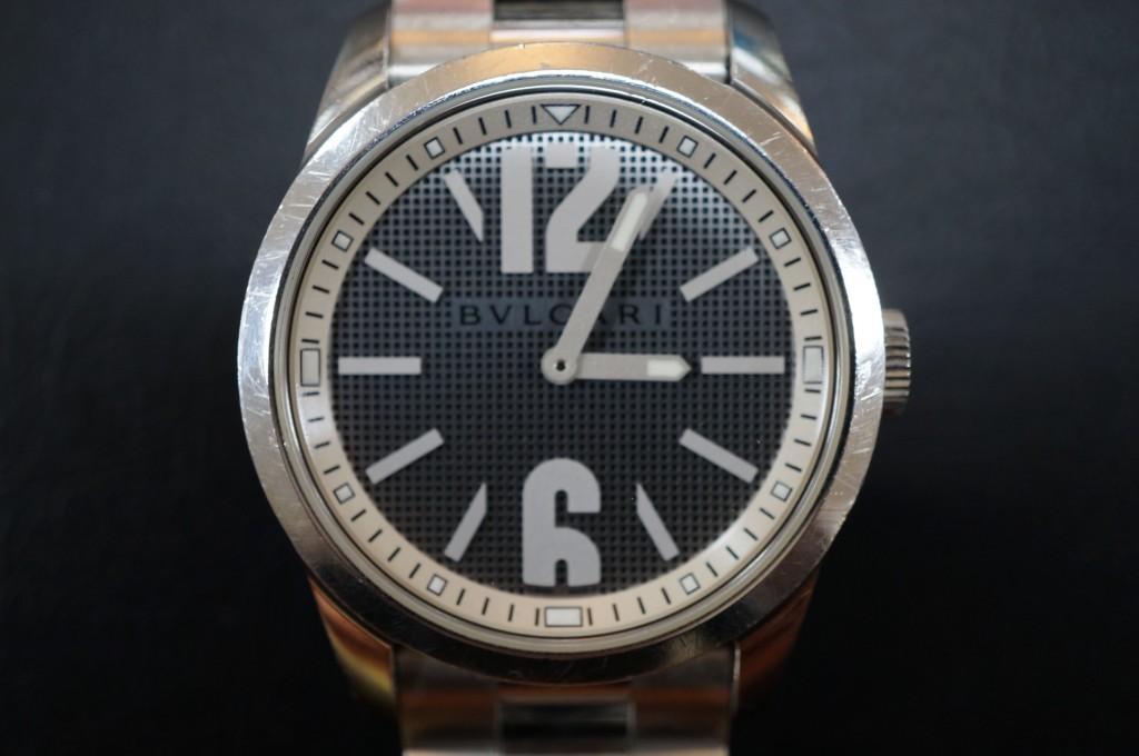 No.292 BVLGARI(ブルガリ)自動巻き 腕時計を修理しました