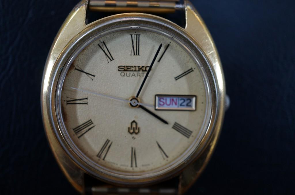 No.291 SEIKO(セイコー)クォーツ 腕時計を修理しました