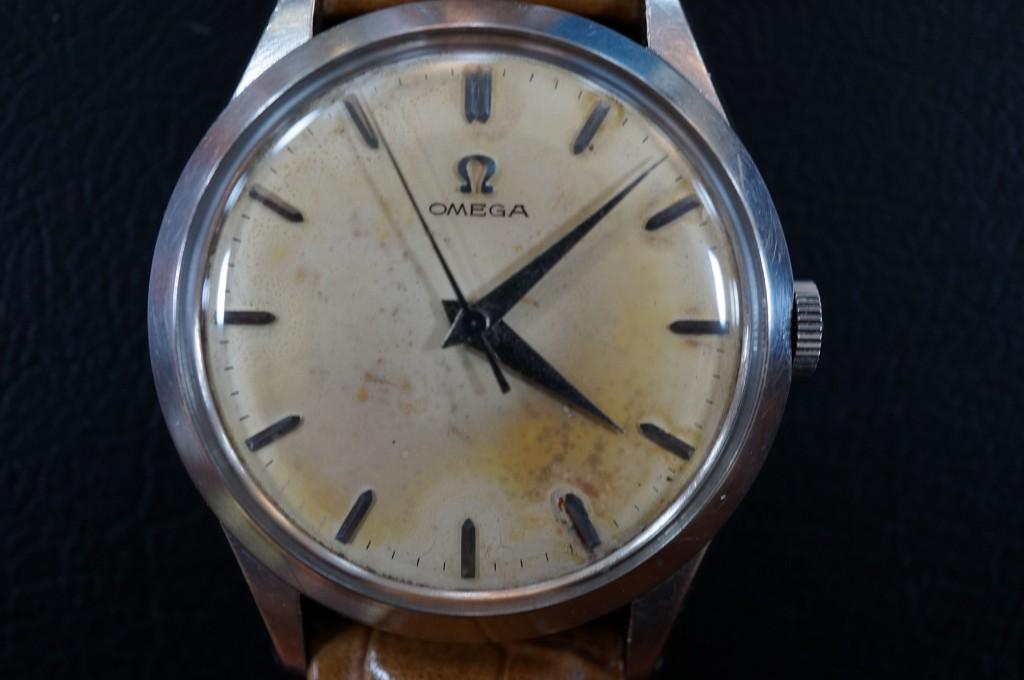 No.290  OMEGA (オメガ ) アンティーク腕時計を修理しました