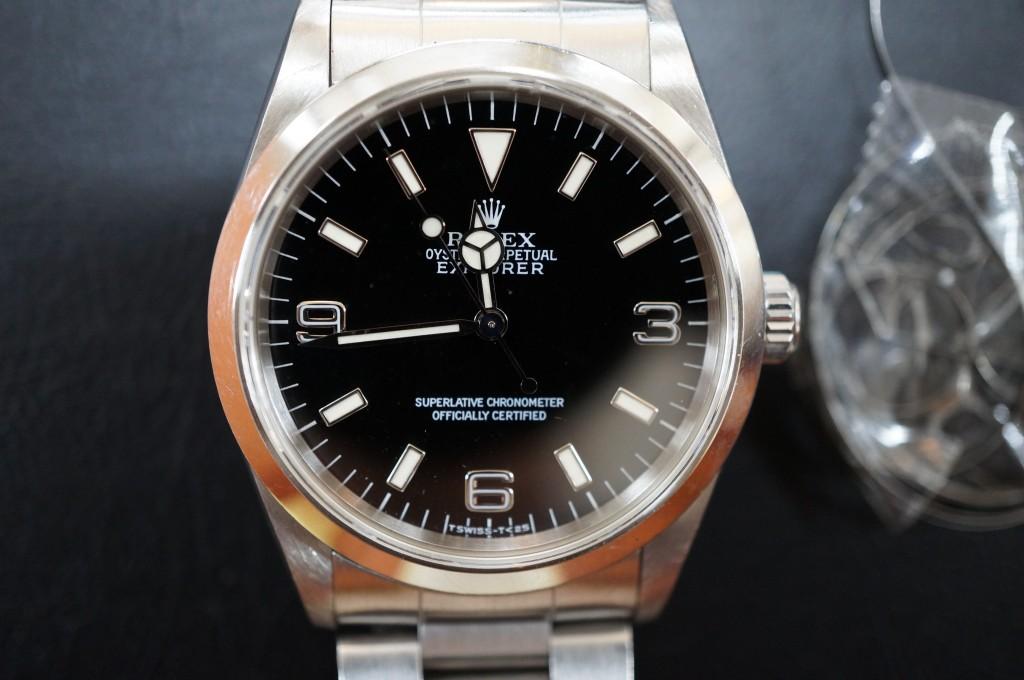 No.288  ROLEX Explorer 1(ロレックス エクスプローラー 1) 自動巻き腕時計を修理しました