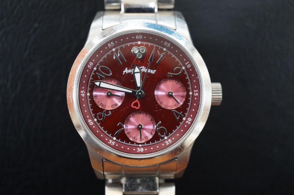 No.289 Angel Heart(エンジェル ハート)クォーツ 腕時計を修理しました