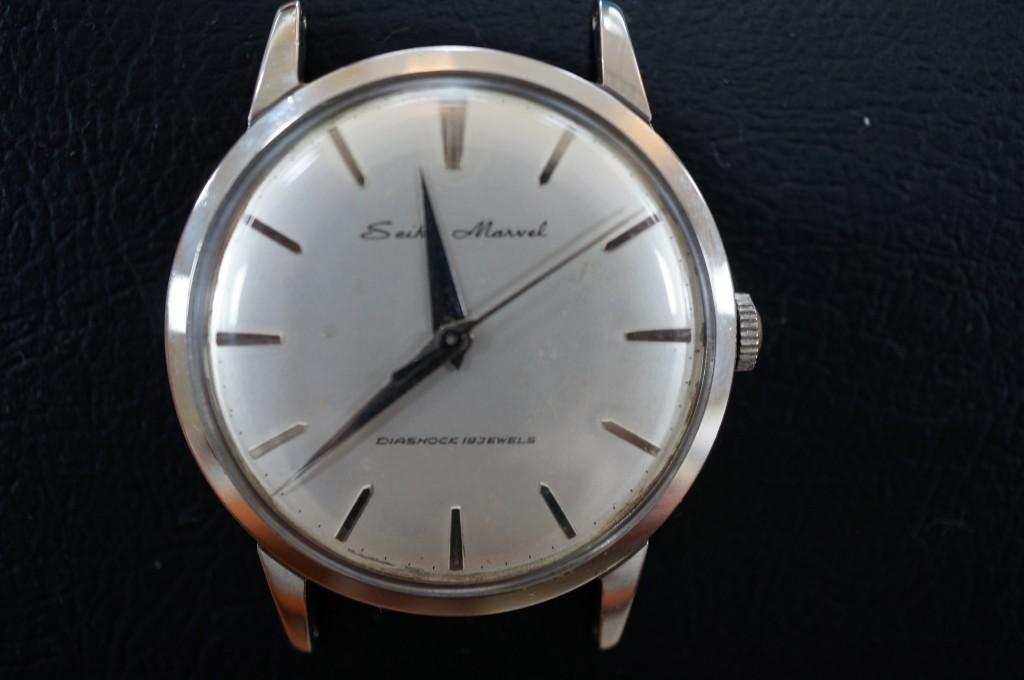 No.300  SEIKO (セイコーマーベル ) アンティーク腕時計を修理しました