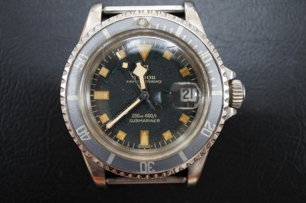 No.299  TUDOR (チュードル ) アンティーク腕時計を修理しました
