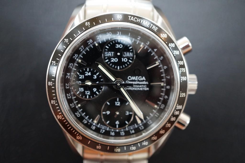 No.309  OMEGA Speedmaster(オメガスピードマスター) 自動巻き腕時計を修理しました
