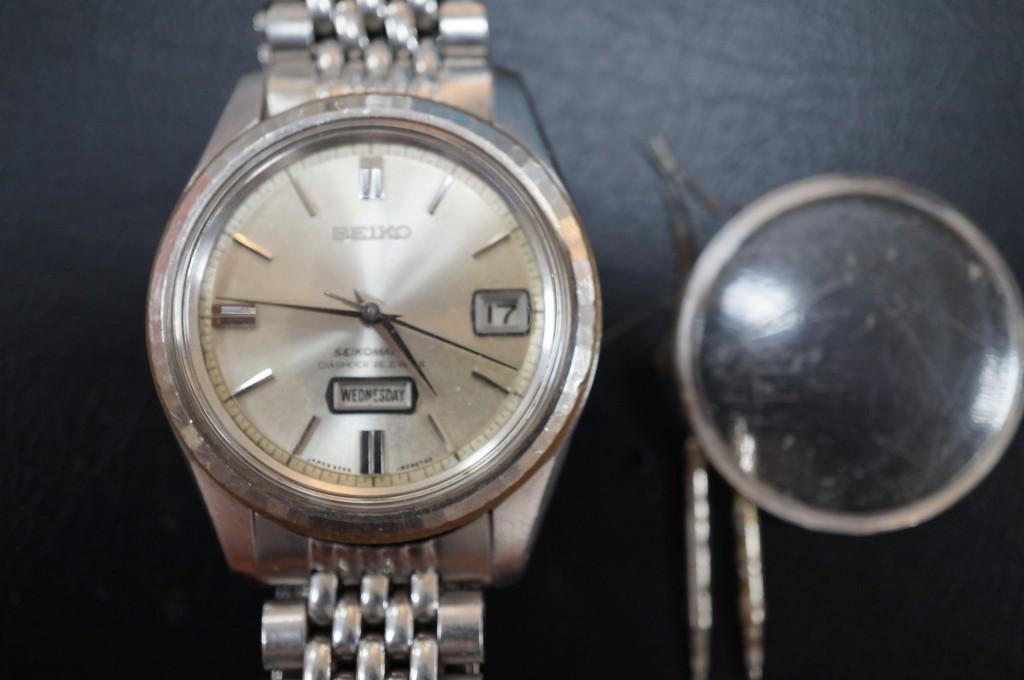 No.304  SEIKO  MATIC (セイコー アンティーク)自動巻き腕時計を修理しました