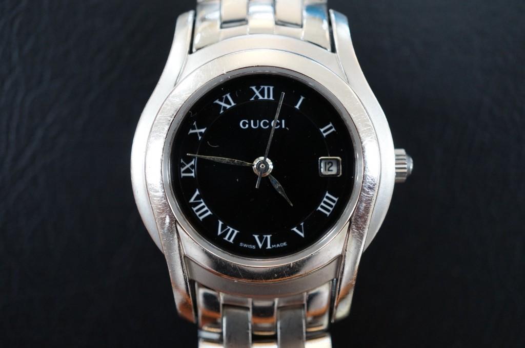 No.303 GUCCI(グッチ)クォーツ 腕時計を修理しました