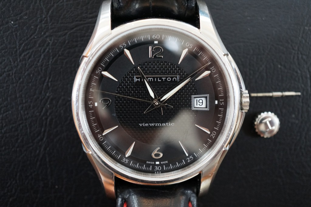 No.301 Hamilton(ハミルトン)自動巻き 腕時計を修理しました