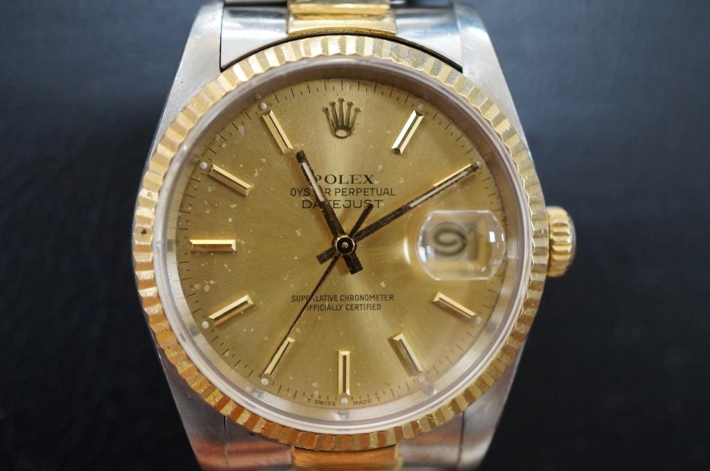No.302  ROLEX (ロレックス) 自動巻き腕時計を修理しました