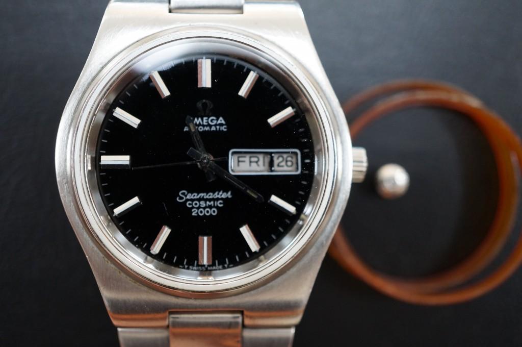 No.328  OMEGA (オメガ シーマスター)自動巻き腕時計を修理しました
