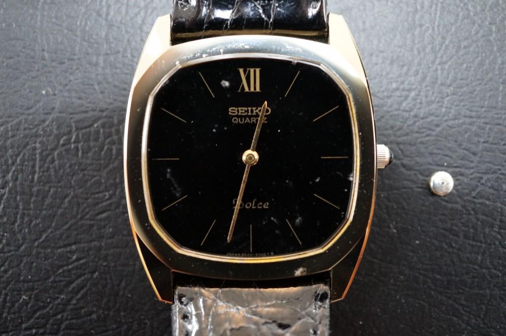 No.325  SEIKO (セイコー) クォーツ腕時計を修理しました