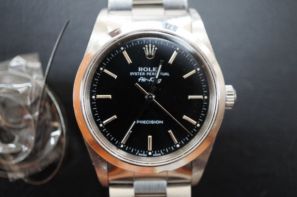 No.324  ROLEX (ロレックス エアキング ) 自動巻き腕時計を修理しました