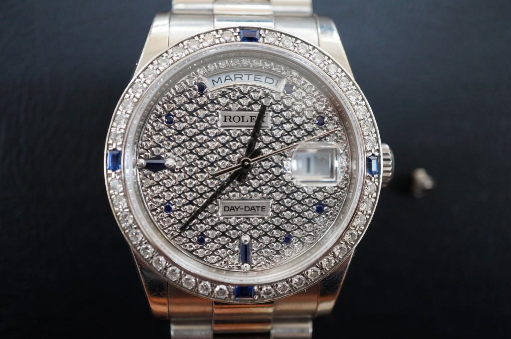 No.329  ROLEX (ロレックス) 自動巻き腕時計を修理しました
