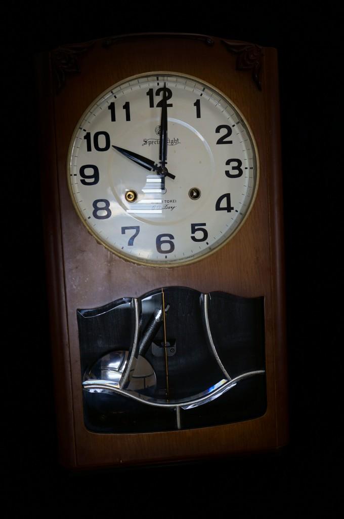 No.321  アンティーク(アイチ) 柱時計を修理しました