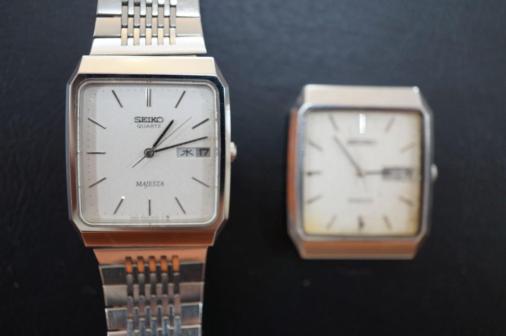 No.330  SEIKO (セイコー) クォーツ腕時計を修理しました