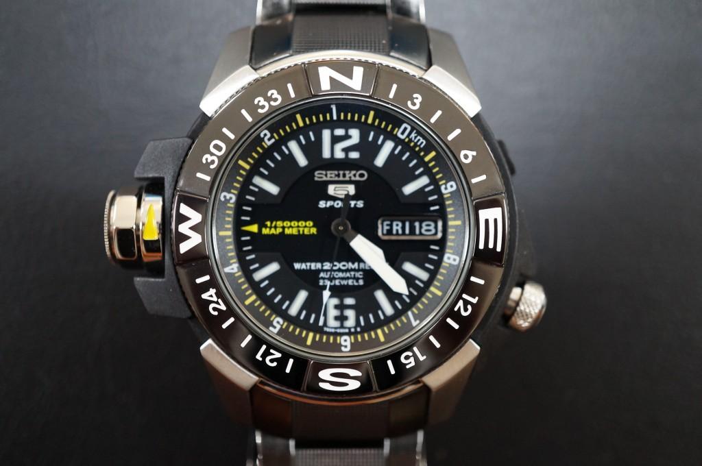 No.318  SEIKO  SPIRTS (セイコー) 自動巻き腕時計を修理しました