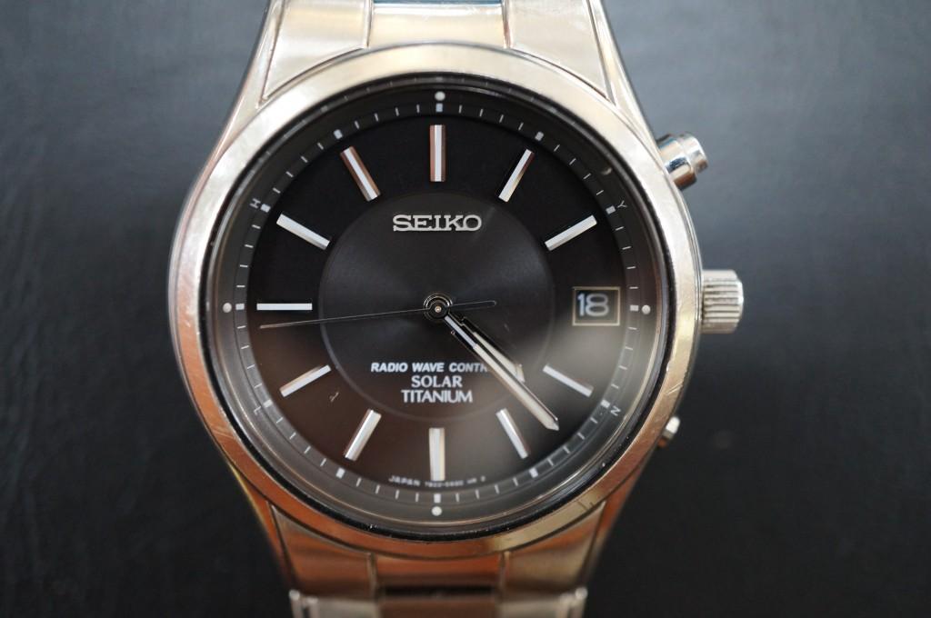 No.317  SEIKO (セイコー ) ソーラー電波腕時計を修理しました