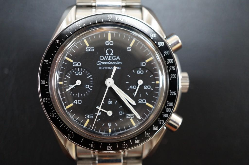 No.319  OMEGA Speedmaster(オメガスピードマスター) 自動巻き腕時計を修理しました