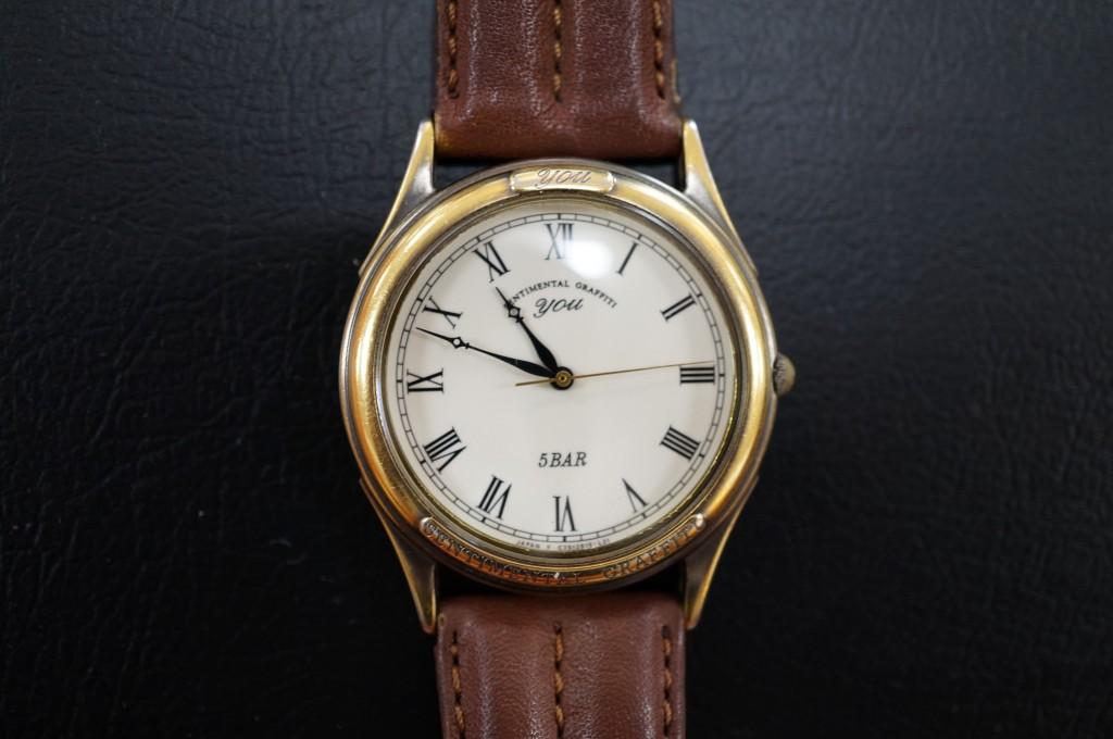 No.315  you (ユー) クォーツ腕時計を修理しました