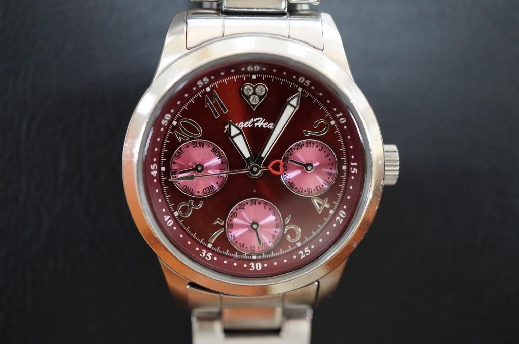 No.313  Angel Haat (エンジェルハート) クォーツ腕時計を修理しました