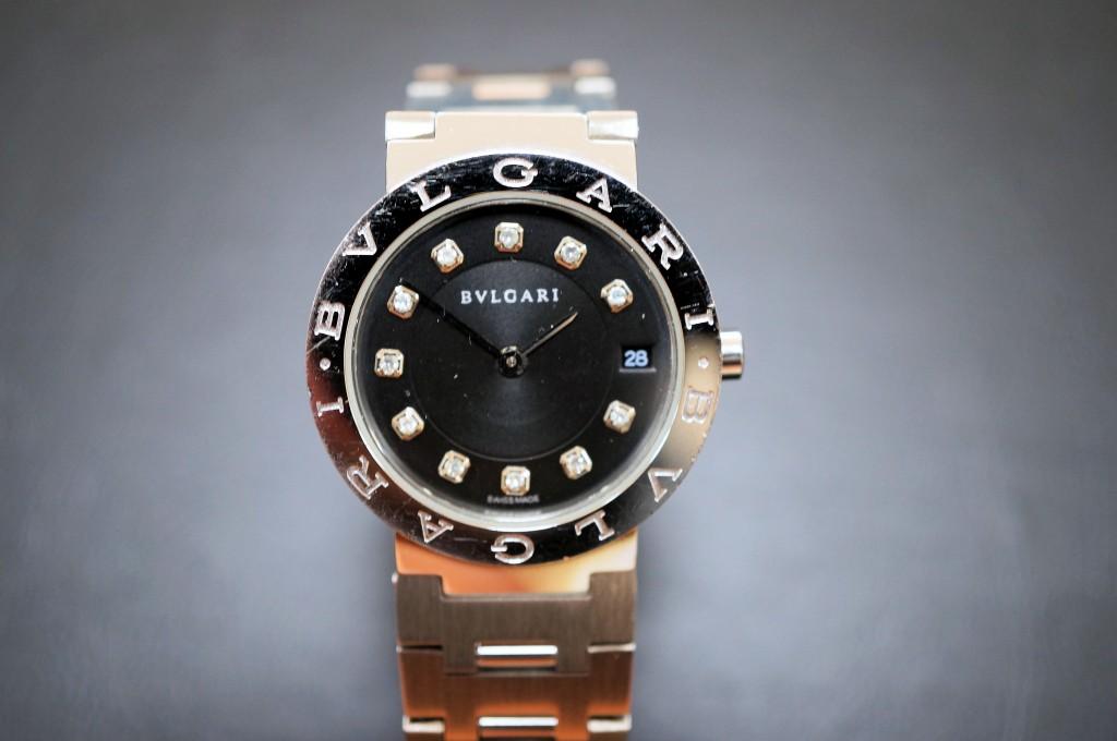 No.310  BVLGARI (ブルガリ) クォーツ腕時計を修理しました