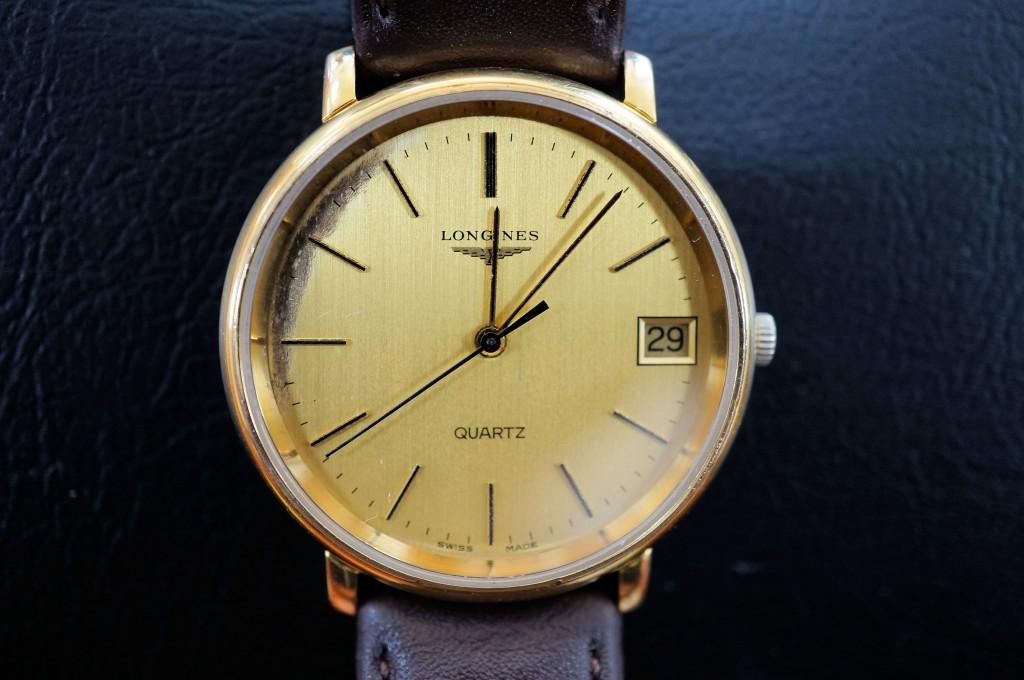 No.333  LONGINES (ロンジン) クォーツ腕時計を修理しました