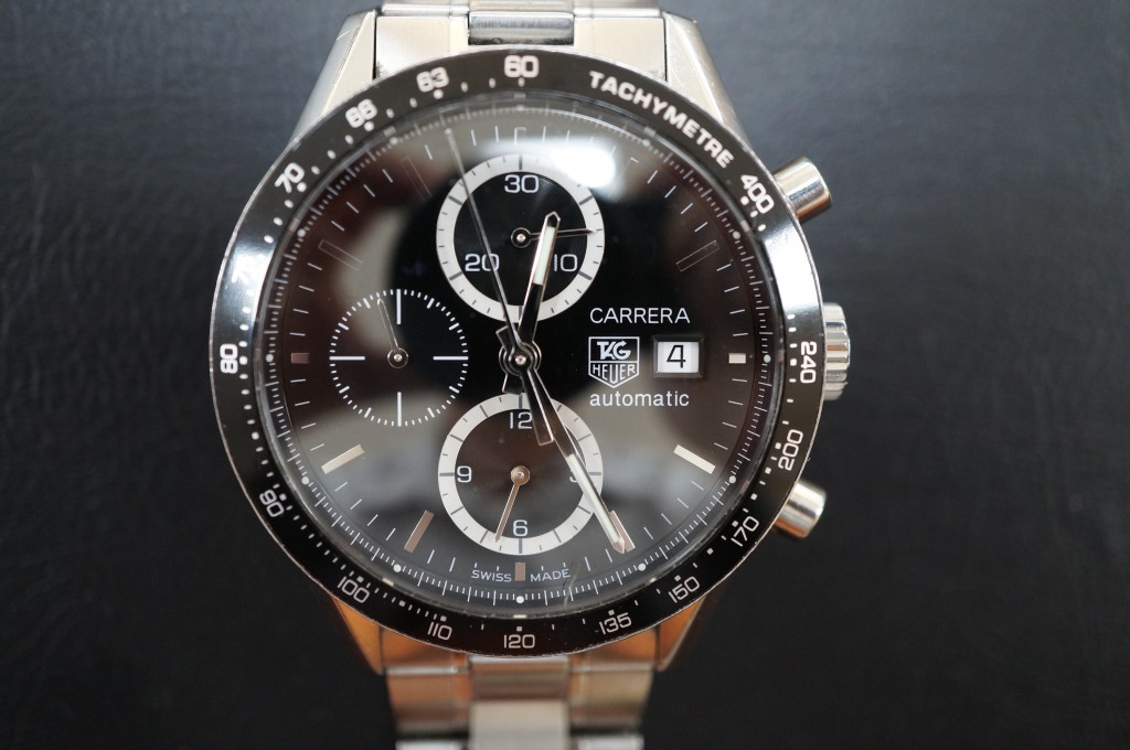 No.332  TAG HEUER CARRERA (タグホイヤーカレラ)自動巻き腕時計を修理しました