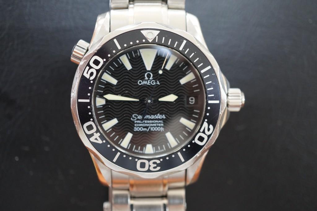 No.341  OMEGA (オメガ シーマスター)自動巻き腕時計を修理しました