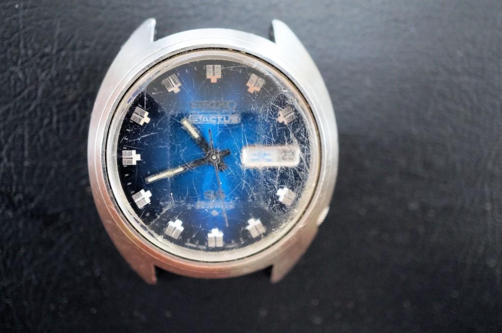 No.343  SEIKO 5 (セイコー5 )自動巻き腕時計を修理しました