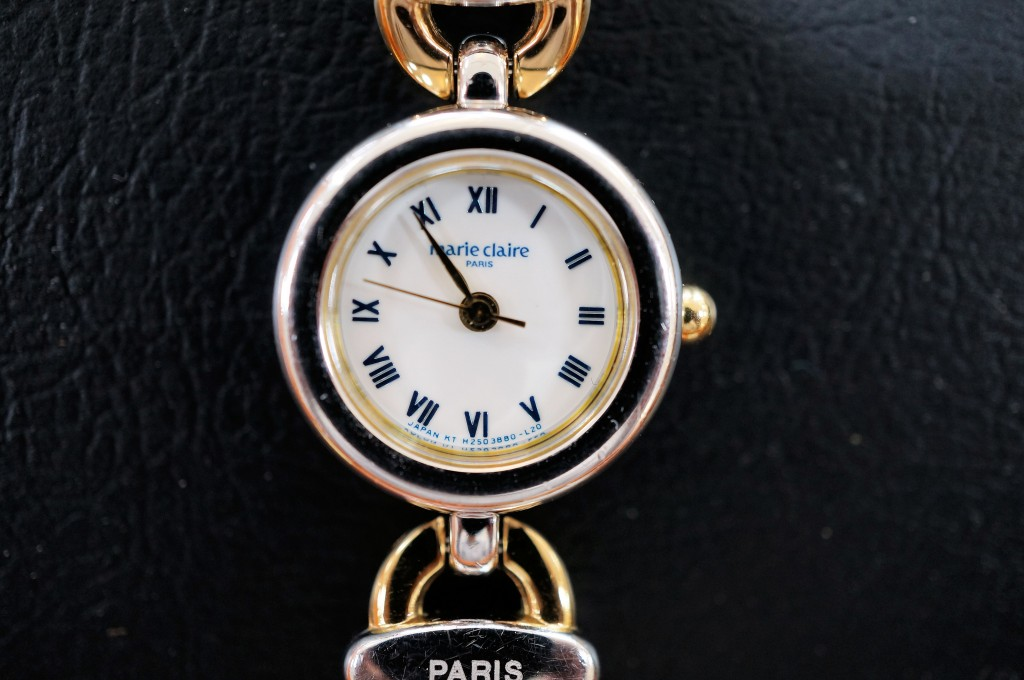 No.344  SEIKO marie claire (セイコーマリクレール )クォーツ腕時計を修理しました