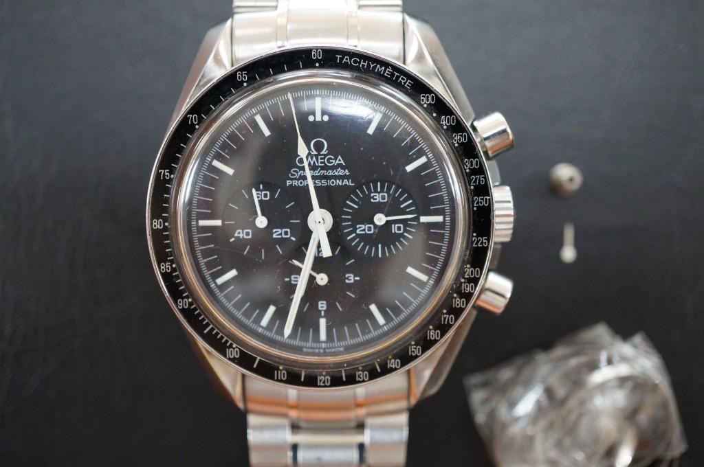 No.345  OMEGA (オメガ スピードマスター)自動巻き腕時計を修理しました