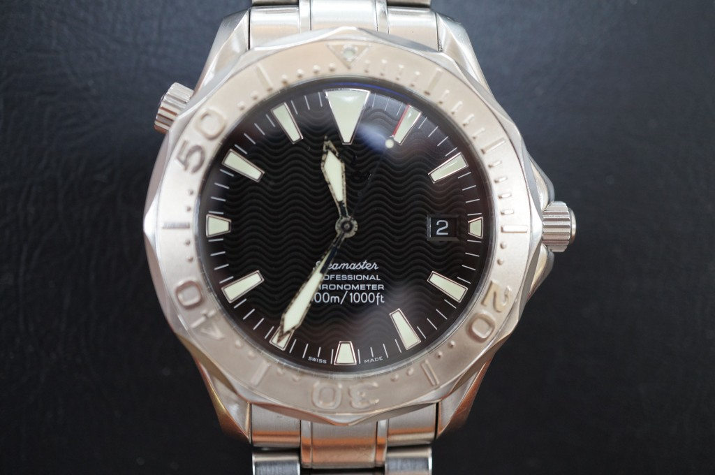 No.355  OMEGA (オメガ シーマスター)自動巻き腕時計を修理しました