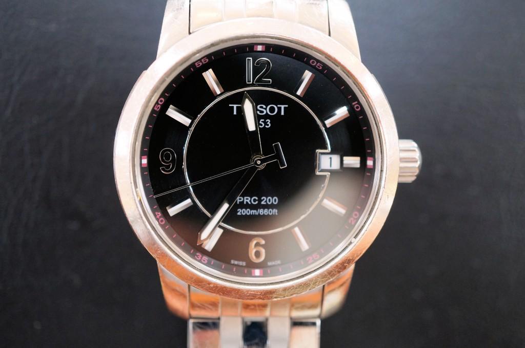 No.354 TISSOT (ティソ)  クォーツ腕時計を修理しました