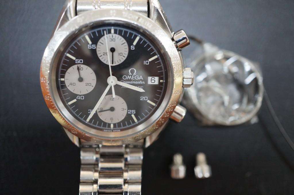 No.351  OMEGA (オメガ スピードマスター)自動巻き腕時計を修理しました