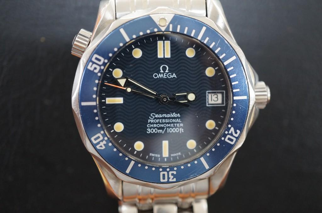 No.349  OMEGA (オメガ シーマスター)自動巻き腕時計を修理しました