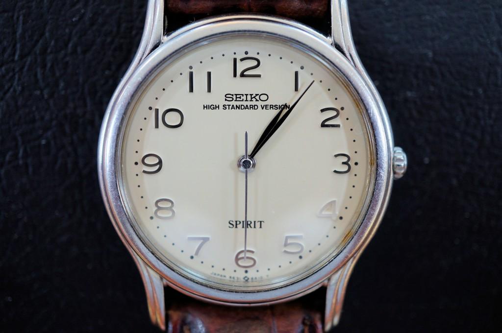 No.348 SEIKO (セイコー)  クォーツ腕時計を修理しました
