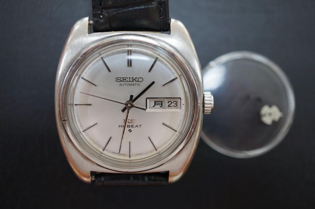 No.361  SEIKO KS(キングセイコー) 自動巻き腕時計を修理しました