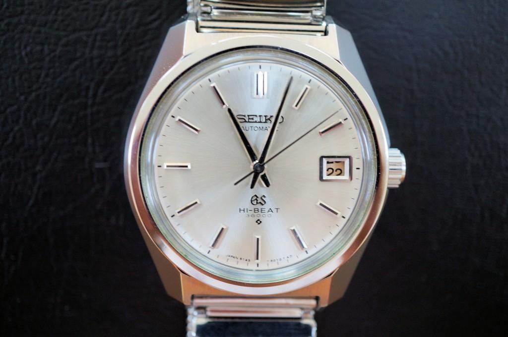 No.358  SEIKO GS(グランドセイコー) 自動巻き腕時計を修理しました