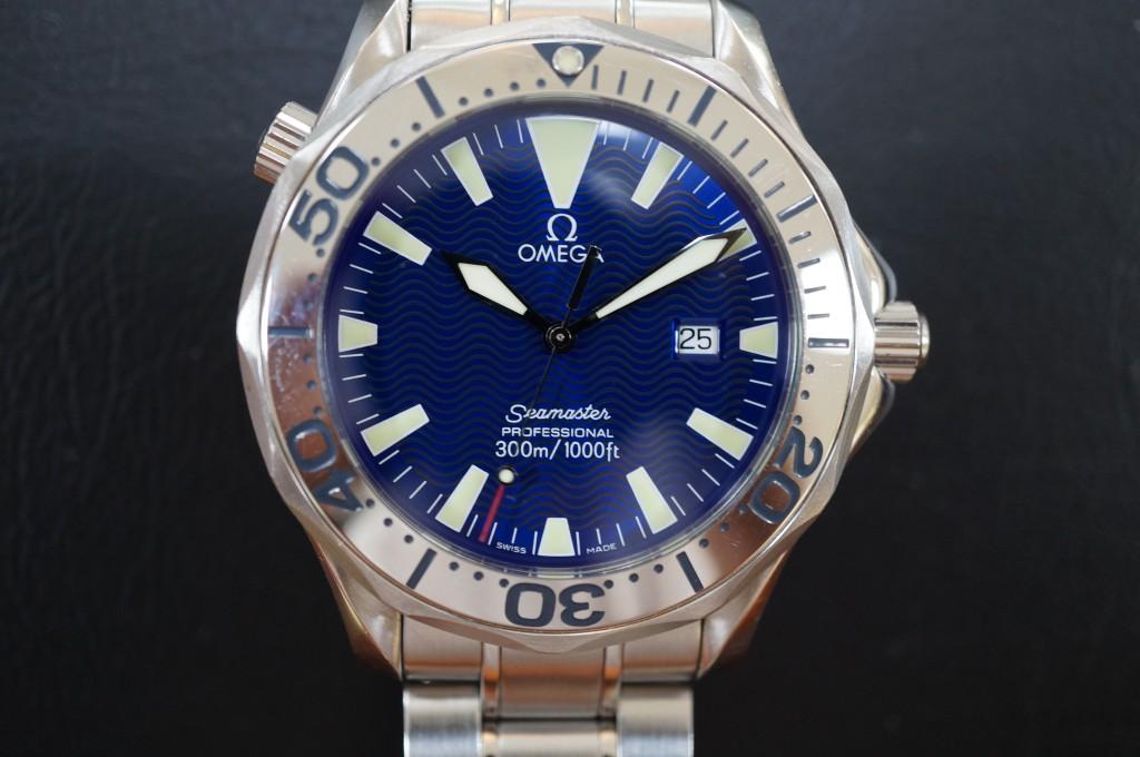 No.374  OMEGA (オメガ シーマスター)クォーツ腕時計を修理しました