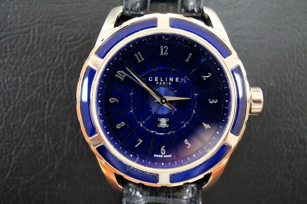 No.362  CELINE(セリーヌ) クォーツ腕時計を修理しました