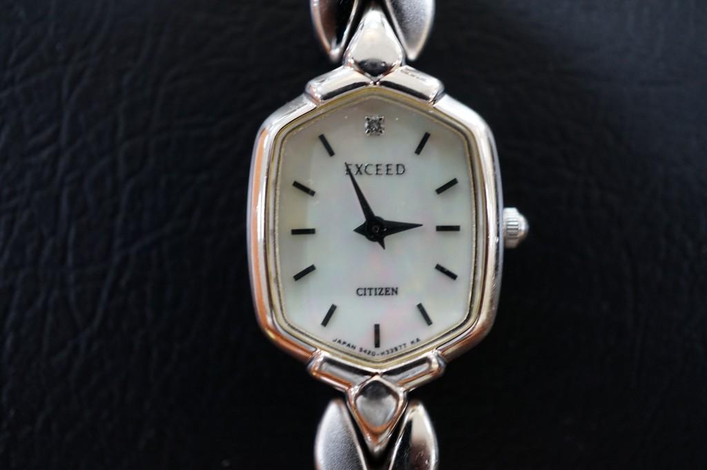 No.373  CITIZEN EXCEED (シチズンエクシード)クォーツ腕時計を修理しました