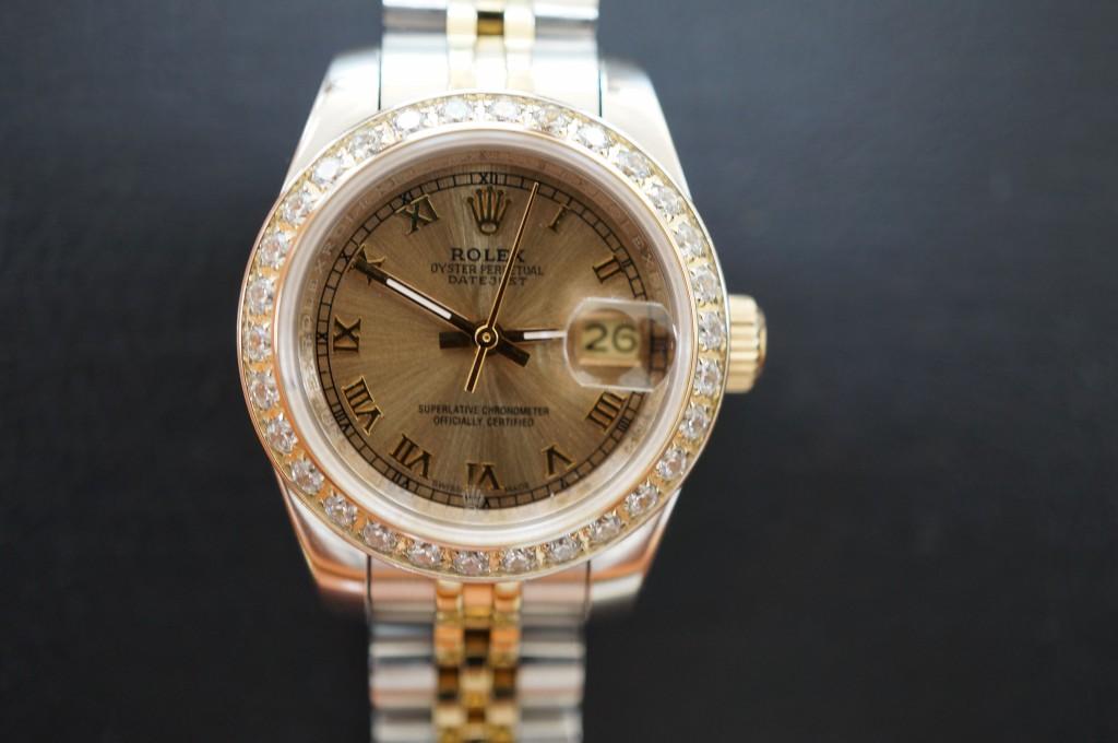 No.372  ROLEX (ロレックス ) 自動巻き腕時計を修理しました