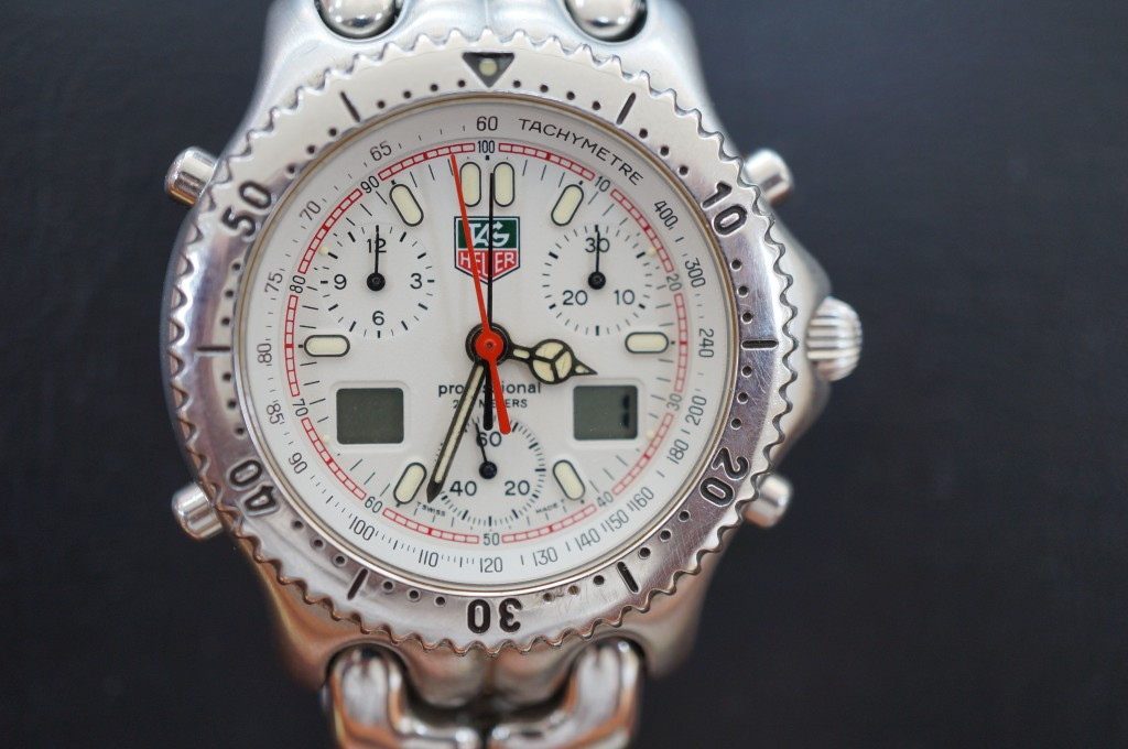 No.371  TAG HEUER (タグホイヤー)クォーツ腕時計を修理しました