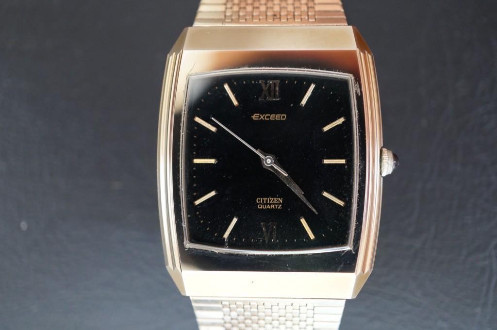 No.369  CITIZEN EXCEED (シチズンエクシード)クォーツ腕時計を修理しました