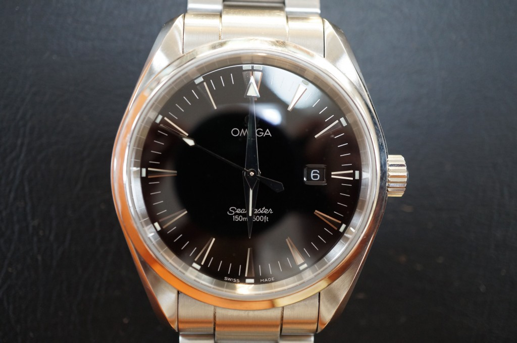 No.366  OMEGA (オメガ シーマスター)クォーツ腕時計を修理しました