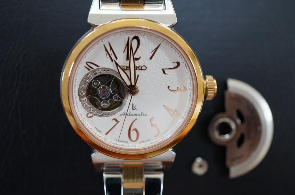 No.364  SEIKO LUKIA(セイコールキア) クォーツ腕時計を修理しました