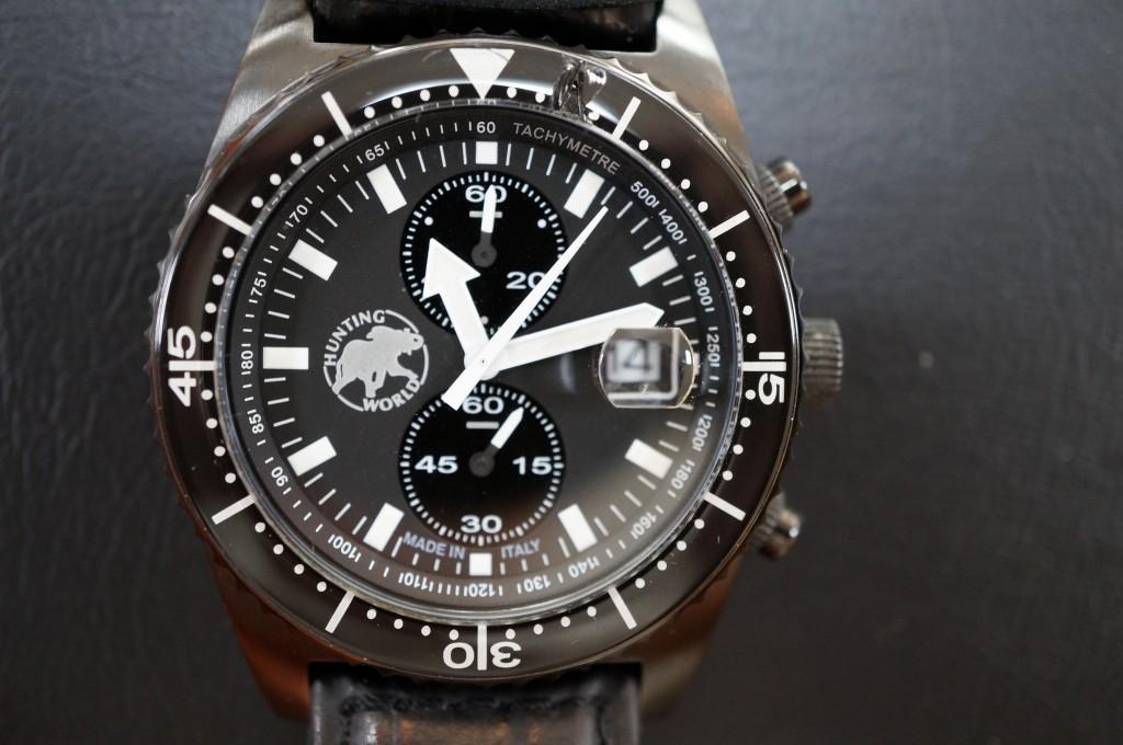 No.377  HUNTING WORLD (ハンティングワールド)クォーツ腕時計を修理しました